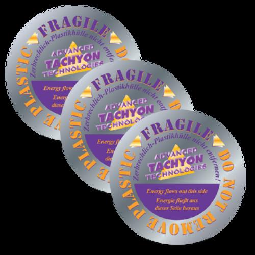 Discuri siliciu tahionizate simple 15 cm - set 3 bucăți (Tachyonized Silica Disk 15cm 3-Pack)