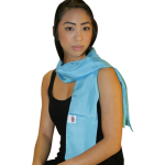 Reducere de pret Eşarfă tahionizată din mătase naturală 55