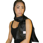 Eşarfă tahionizată din mătase naturală 55