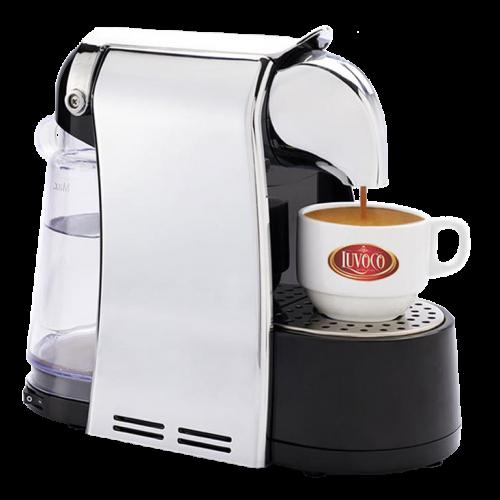 Aparatul Luvoco este o invenție inovatoare ce utilizează tehnologie italiană pentru a produce cafeaua perfectă în doar 30 de secunde.